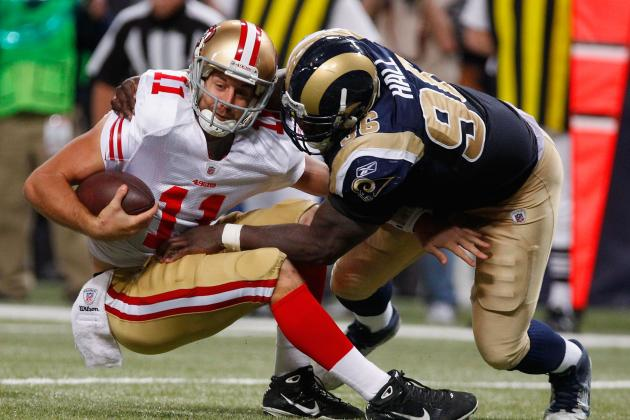 Keeping Alex Smith Upright Is Key to the San Francisco 49ers' 2012 Season