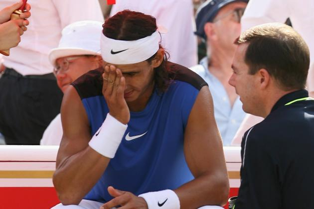 Rafael Nadal's Pain Is Roger Federer's Gain