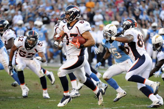 Denver Broncos WR Eric Decker: 2012 Fantasy Football Profile