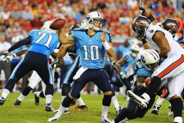 Jake Locker Named Starting Quarterback of the Tennessee Titans