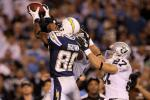 Chargers' WR Vincent Brown Breaks Ankle: Out How Long?