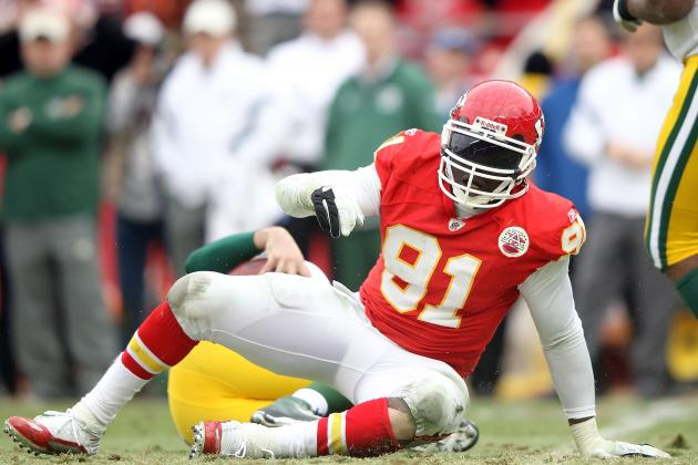 Tamba Hali Suspended 1 Game by NFL for Violating Substance Abuse Policy