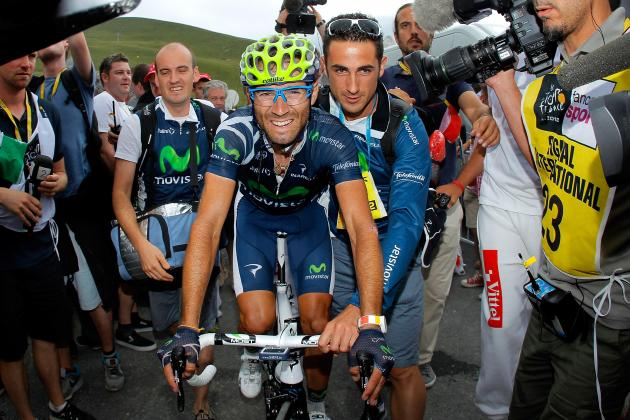 2012 Vuelta a España: Alejandro Valverde Wins Stage 3, Takes Overall Lead
