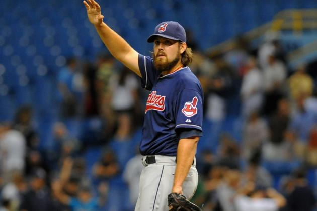 Indians' Chris Perez Engages Oakland A's Fan in Obscene War of Words
