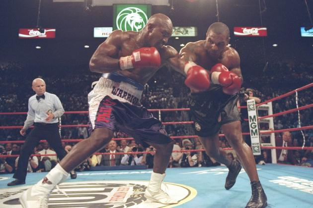 Evander Holyfield's Bankruptcy Forces Memorabilia Auction Including Tyson Items