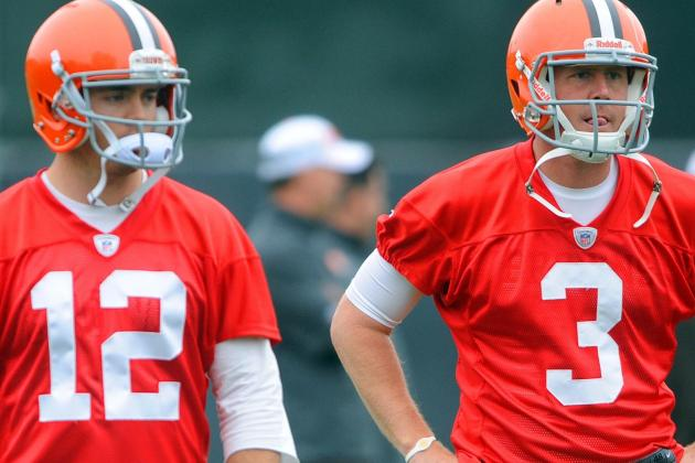 Cleveland Browns' Brandon Weeden & Colt McCoy Getting Better Each Week