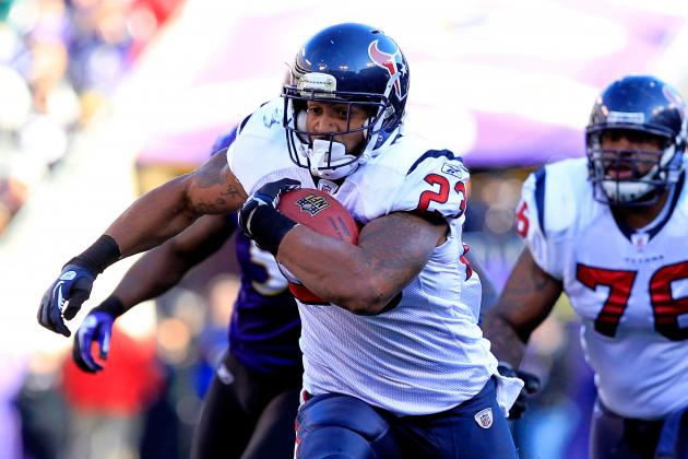 2012 Fantasy Football Running Back Rankings by Tier
