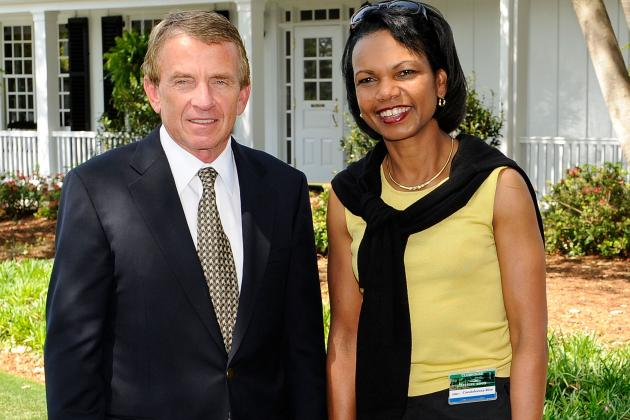 Augusta National Admits First Female Members Condoleezza Rice & Darla Moore