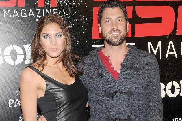 Dancing with the Stars' Maksim Chmerkovskiy Considers Suing Hope Solo