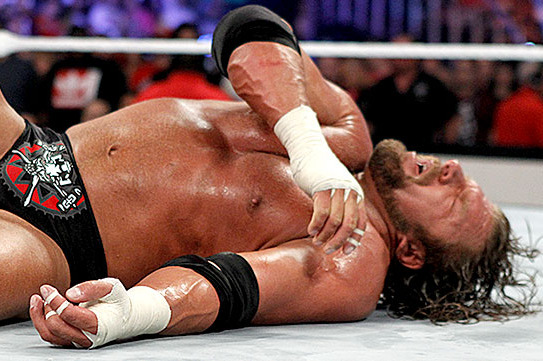 WWE SummerSlam 2012 Results: What Broken Arm Means for Future of Triple H