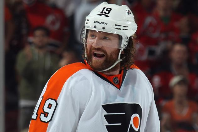 Flyers Sign Scott Hartnell to Multi-Year Contract Extension