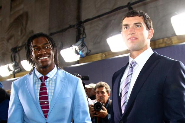 Andrew Luck or Robert Griffin: Who Has the Better Rookie Season?