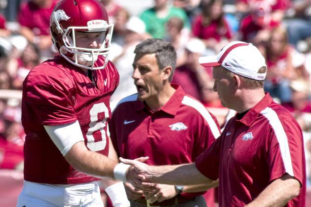 Arkansas Football 2012: Razorbacks Make a Smart Move to Get on CBS Sports