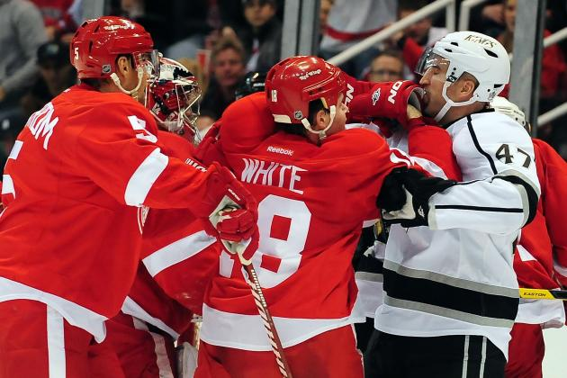 Detroit Red Wings Spar with Los Angeles Kings over Twitter