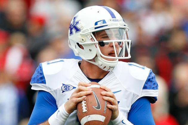 Kentucky Football: Joker Phillips Names Maxwell Smith Starting Quarterback