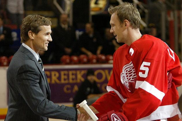 Detroit Red Wings: Missing Players for the Winter Classic Alumni Rosters