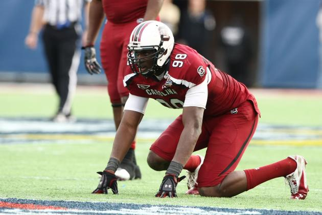 South Carolina Football: Taking a Look at Devin Taylor for 2012