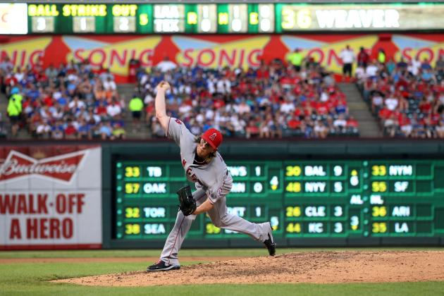 Los Angeles Angels Ace Jered Weaver Should Win AL Cy Young
