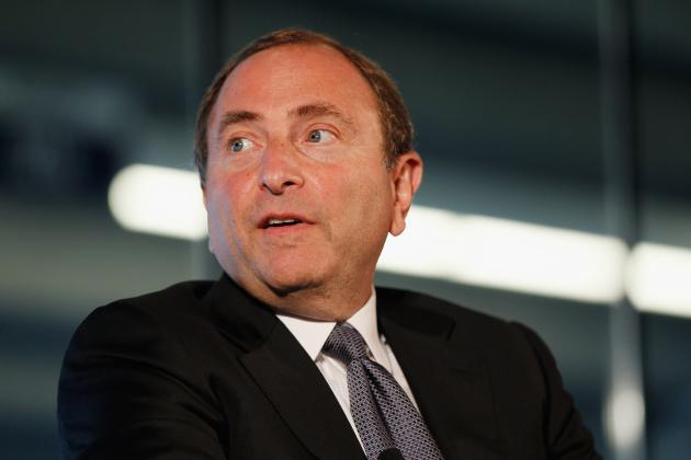 NHL Lockout 2012: A Letter to Gary Bettman Do Not Complete Your