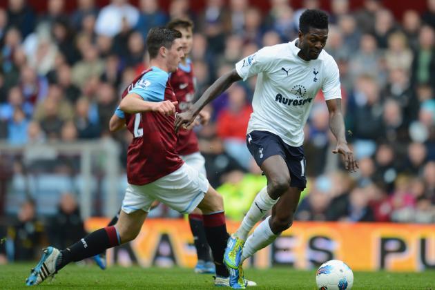 Tottenham Hotspur Reportedly Nearing Deal for Emmanuel Adebayor