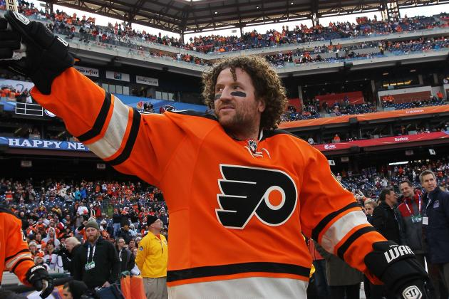 Philadelphia Flyers: Does Hartnell Need to Score to Stay on Philly's Good Side?