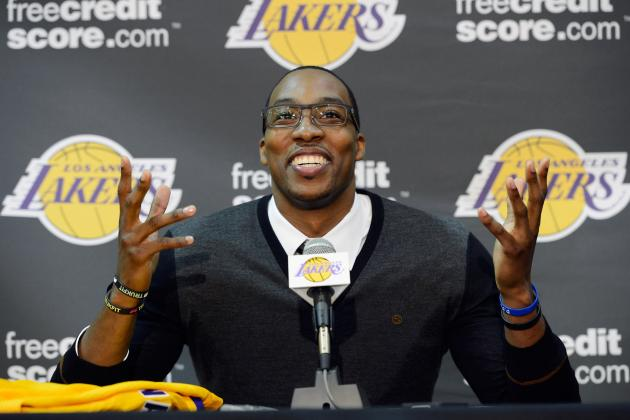 Breaking Down the Best Way for Los Angeles Lakers to Use Dwight Howard