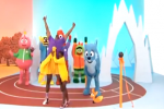 Seriously: Metta World Peace Competes in Yo Gabba Gabba Olympics