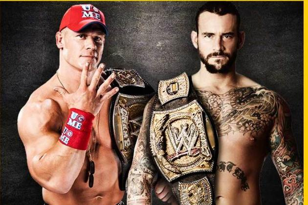 WWE: CM Punk and John Cena Are Both Heel and Face Simultaneously