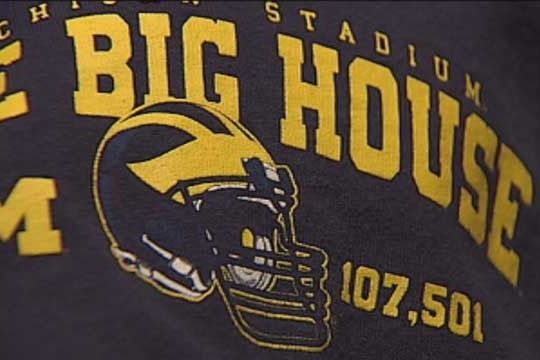 Oklahoma 5-Year Old Forced to Turn Michigan Shirt Inside Out by Principal