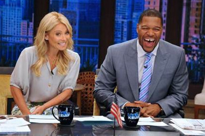 Michael Strahan Reportedly Scores Hosting Gig on Live! with Kelly Ripa