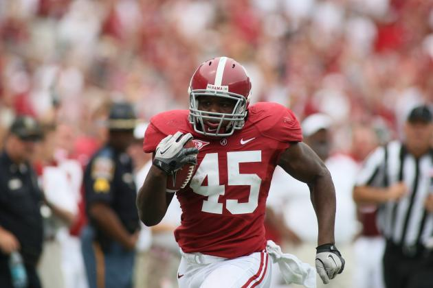 Alabama Football:  What You Need to Know About Tide Running Back Jalston Fowler