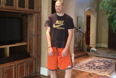 Dallas Mavericks' Chris Kaman Embraces Inner Cowboy Geek