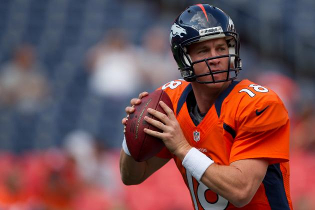 Denver Broncos: Peyton Manning and WRs Struggling to Convert in the Red Zone