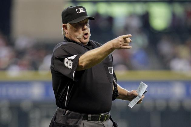 MLB Umpire Jim Joyce Saves D'Backs Employee's Life with CPR