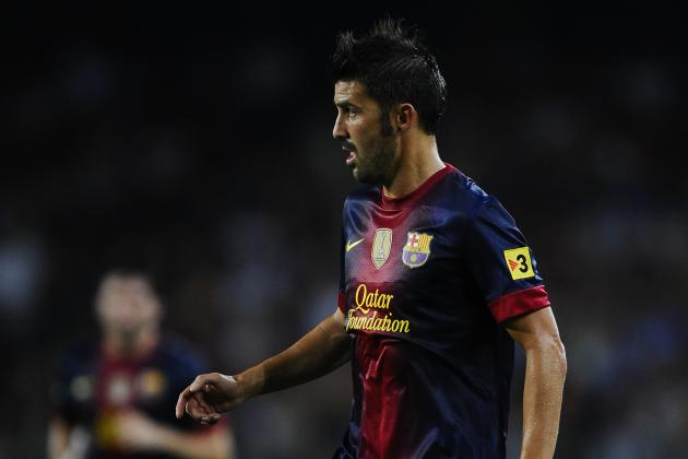 David Villa's Return to Action Is Crucial for Barcelona