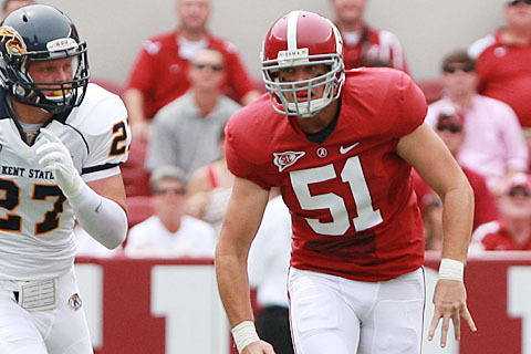 Alabama Football: Inspirational Long Snapper Carson Tinker Awarded Scholarship