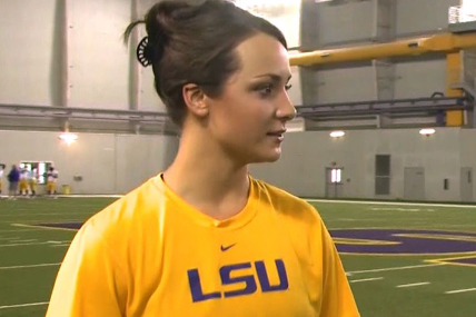 LSU Football: Kicker Mo Isom Continuing Her Quest to Make the Tiger Roster