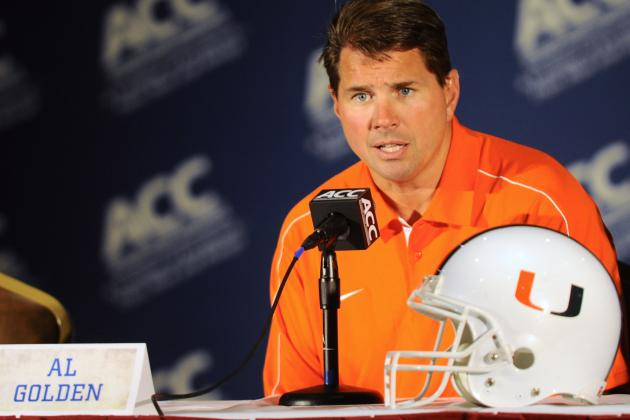 Miami Football 2012: Al Golden Handles the Vernon Davis Transfer Smoothly