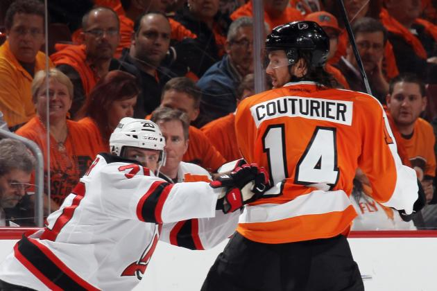 Sean Couturier Preps to Avoid Sophomore Slump