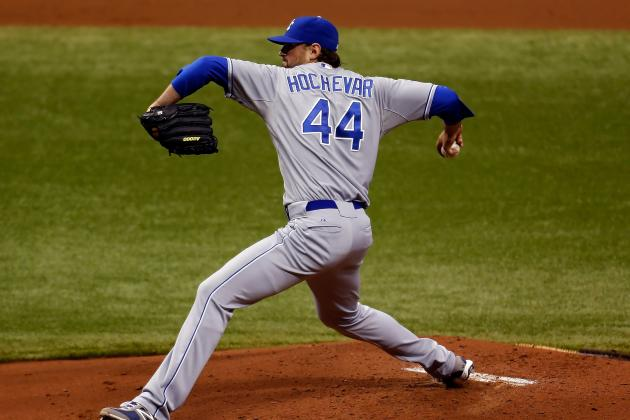 Kansas City Royals' Luke Hochevar Looked the Part of a No. 1 Pick for a Day