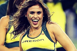 Could Oregon Cheerleader Be Next Erin Andrews?
