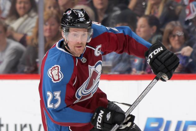 Advanced Stats for Avalanche Forwards in 2011-12