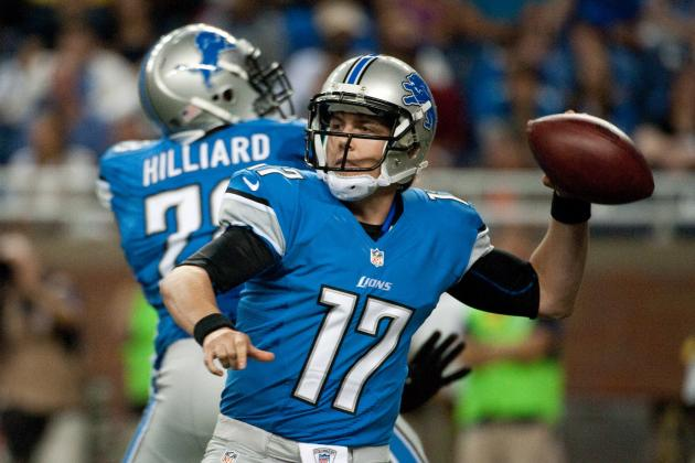 Kellen Moore: Limited Playing Time with Detroit Lions Will Serve Raw Rookie Well