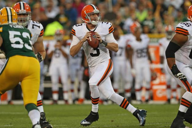 Breaking Down Brandon Weeden's Early Showings for Cleveland Browns