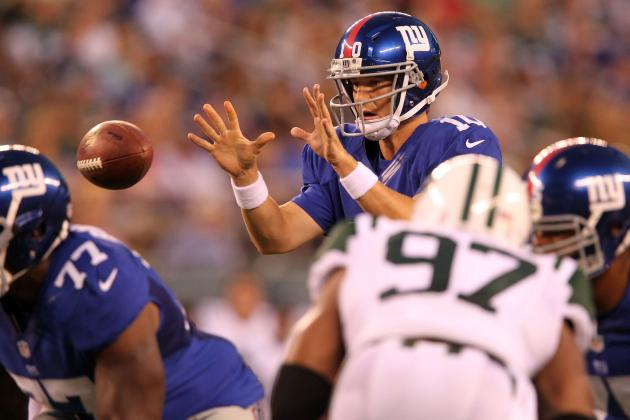Best and Worst of New York Giants Epitomized by Two Plays vs. New York Jets