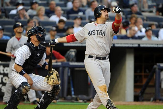 Adrian Gonzalez Reportedly Placed on Trade Waivers by Boston Red Sox