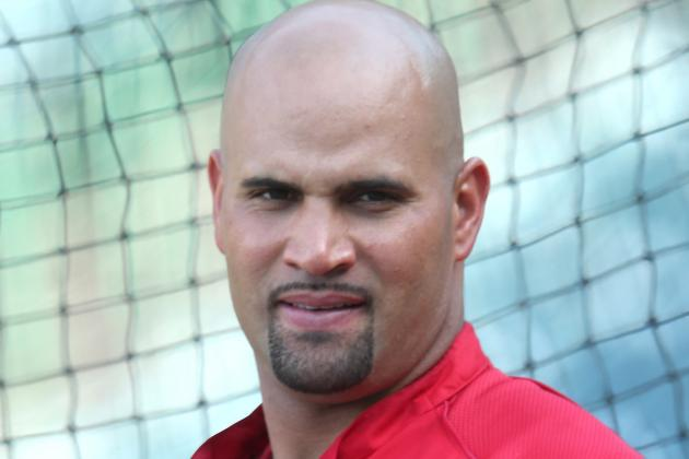 Pujols out with Apparent Hamstring Injury