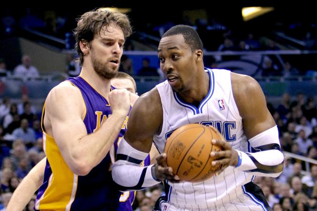 LA Lakers: Breaking Down How Pau Gasol and Dwight Howard Will Co-Exist in Paint