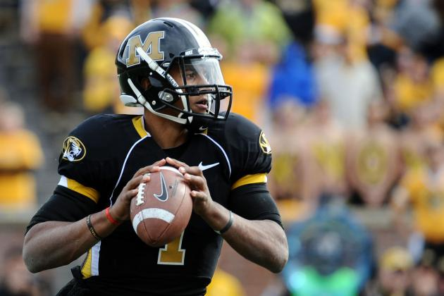 Missouri Quarterback James Franklin Is Destined to Be a Breakout Star in 2012