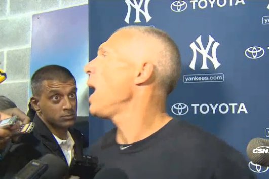 Girardi Goes After Heckler